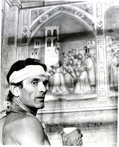Il Decameron, di Pier Paolo Pasolini; 1971. Giornata VI, novella V - L'allievo di Giotto aspetta la giusta ispirazione.