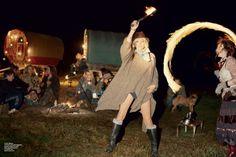 Kate Moss - grungy gypsy ✌