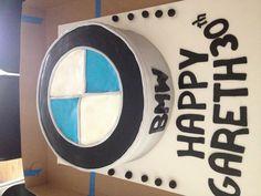 BMW 30th bday cake