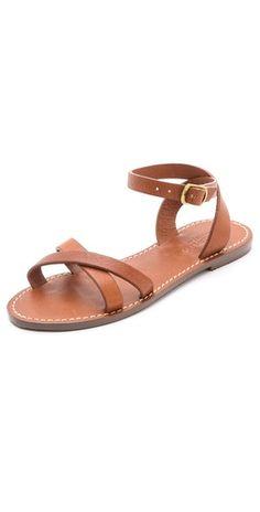 Madewell Crisscross Boardwalk Sandals | SHOPBOP