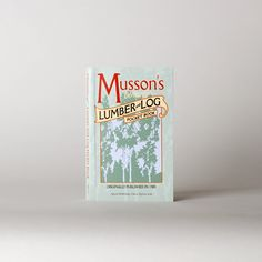 Musson's Lumber and Log Pocket Book