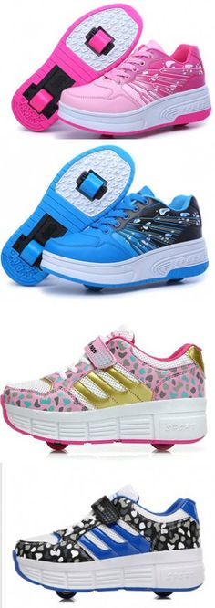 Heelys Children Adult Shoes With Wheels Kids Fashion Sneakers Sport Casual Wheel Roller Skates For Boy and Girls