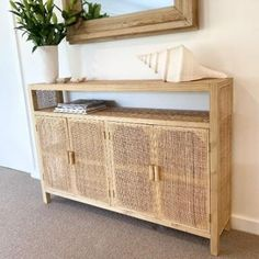We are loving 😍 the stunning Avalon Rattan Console, Australia wide delivery. Interest free payment options available. www.finditstyleithome.com.au #rattanfurniture #interiorinspo #beachhouse #interiorblogger #sale #interiors4all #interiorlovers #homebeautiful #homestloveau #onlineshopping #finditstyleithome Hope Chest, Storage Chest, The Unit, Cabinet, Boho, Furniture, Green, Home Decor, Clothes Stand