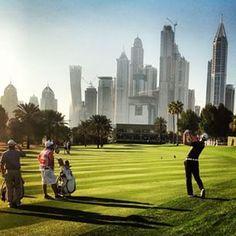 Martin Kaymer on the 15th yesterday ahead of the 26th Omega Dubai Desert Classic #dubai #abudhabi #golf #uaegolf #uae #emirates #golfer #golfing #mydubai #socialgolf #sun #happy #like #smile #instagood #instagolf #love #follow #iphone #photooftheday #me #
