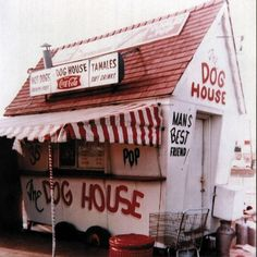 """The original """"Dog House"""" that started the famous Portillo's restaurant chain in the Chicago area opened in 1963 in Villa Park."""