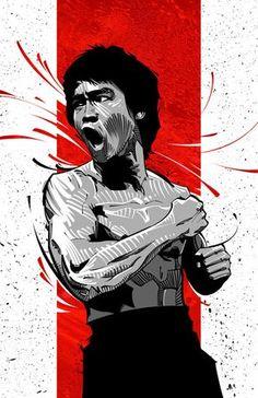 Bruce Lee love him, Bruce Lee Poster, Bruce Lee Art, Bruce Lee Martial Arts, Brice Lee, Bruce Lee Pictures, Ju Jitsu, Arte Dc Comics, Enter The Dragon, Martial Artist
