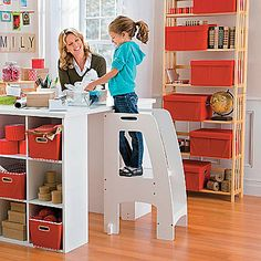 The Step Up Kitchen Helper Elevates Children Safely, Securely.This Step  Ladder Is Strong And Sturdy. Use As A Kitchen Ladder, Too.