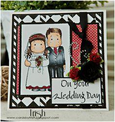 Tilda wedding card