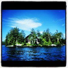 Chapel Island, Saranac Lake, Adirondacks, New York