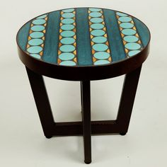 Contemporary Outdoor Side Table