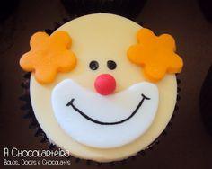 clown face cakes