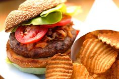 What a great way to make a salmon burger on the grill with Verlasso. Pair them with a salad tossed with an Asian dressing made from soy sauce, rice wine vinegar and sesame oil.