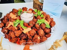 Handmade Air fried Chicken bites with Cocktail sauce Kung Pao Chicken, Fried Chicken, Cocktail Sauce, Chicken Bites, Catering, Fries, Events, Ethnic Recipes, Handmade