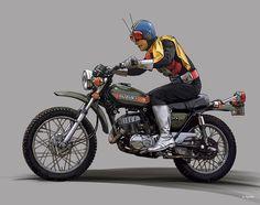 Hero Machine, Japanese Superheroes, Kamen Rider Series, Super Soldier, Vr46, Fantasy Movies, Popular Culture, Raiders, Alter