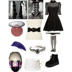 Pinterest five nights at freddy s eyeless jack and inspired outfits