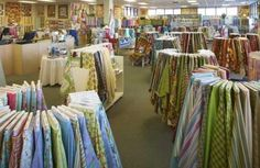 In Phoenix, mother-daughter team Darleen and Tori Ros created a bold, beautiful shop that feeds quilters' passions. Novelty Fabric, Book Quilt, Quilting Tutorials, Shopping Sites, Pastel Colors, Decorative Items, Sewing Crafts, Quilts, Quilt Shops