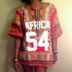 Ron Bass Africa Dashiki Jersey- NEED!