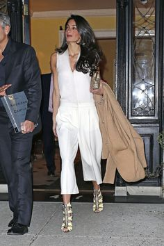 Amal Clooney's Most Stylish Looks: Charting all the lawyer's best looks.