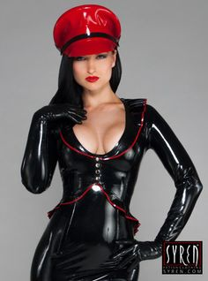 EN STOCK 30 % de réduction - XS Victoria haut ~ Syren Latex Fetish Fashion