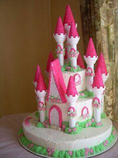 Princess Castle Cake #kshack
