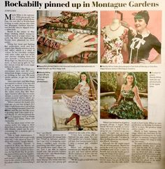 Local Newspaper article, Cape Town, South Africa