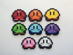 Kirby Perler Bead Sprite - Mini Kirby (CHOOSE ONE)