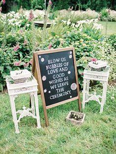 Wedding Exit Bubbles Sign We This Moncheribridals