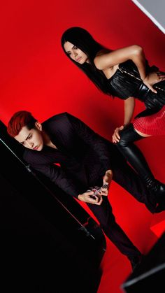 Kris Wu Yi Fan & Kendall Jenner for Vogue China. I honestly thought this was a really sexy picture.. Then I saw the mini guitar and I don't know, I just balled. xD