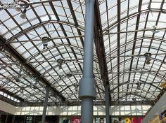 Estructura de una galeria de compras en #Essen #Alemania #InfraIntel