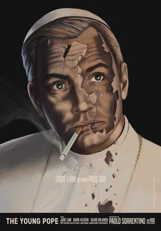 The Young Pope by Aleksander Walijewski - Home of the Alternative Movie Poster -AMP-