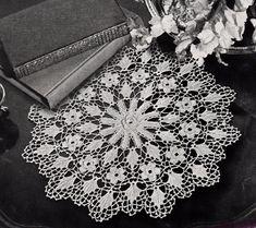 Irish Crochet Doily Pattern, c.1942 on Etsy, $3.99