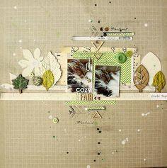 #papercraft #scrapbook #layout Les feuilles dautomne - Scraptus