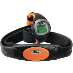 Pyle Heart Rate Monitor Watch With Maximum & Average Heart Rate