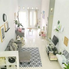 Trendy home desng diy kitchen designs ideas Small House Interior Design, Small Apartment Design, Home Room Design, Living Room Designs, Small Living Rooms, Home Living Room, Living Room Decor, Trendy Home, Decoration