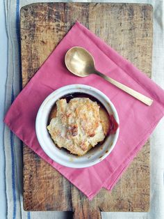 Apple And Blackberry Polenta Cobbler Recipe — Dishmaps