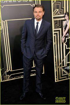 Leonardo DiCaprio at The Great Gatsby premiere