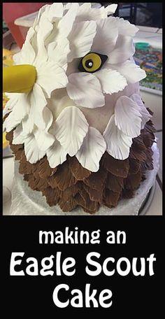 Making an Eagle Cake- fun tutorials here!