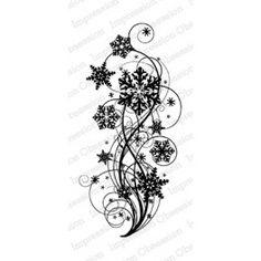 "Motivstempel ""Snowflake Flourish"""