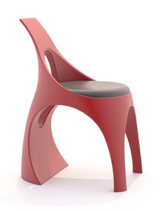 Alex Naboko - FASHION `STUMPHEEL` CHAIR - Mirens Design Challenge http://mirens.com/design/fashion-stumpheel-chair/