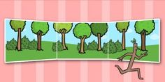 Stick Man Small World Background - Stick Man, Julia Donaldson, resources, family tree, Stick Lady Love, Christmas, Father Christmas, story, story book, story book resources, story sequencing, story resources, Small World, backdrop, background, scene