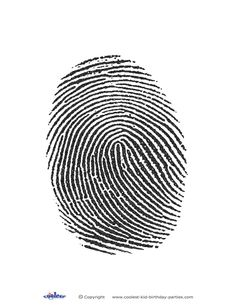 Undercover kindness - Printable Fingerprint Coolest Free Printables