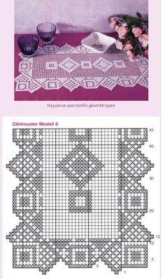 Kira scheme crochet: Scheme crochet no. 1834