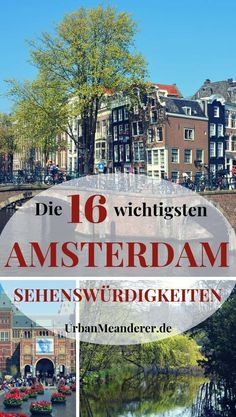 Amsterdam walking tour: Amsterdam sights on foot! Amsterdam Sights, Amsterdam Travel Guide, Amsterdam City, Travel Sights, Travel Usa, Europe Destinations, Medan, Tokyo Japan Travel, France Travel