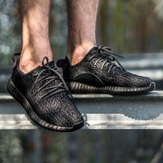 adidas Yeezy Boost 350: Pirate Black