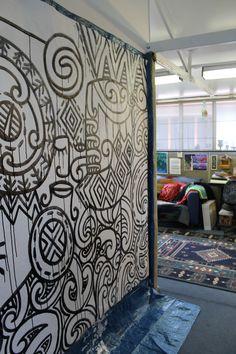 Painting in progress! Sparks Joy, Maori Art, Art Studios, Kiwi, The Hamptons, Students, Design Inspiration, Culture, Artists