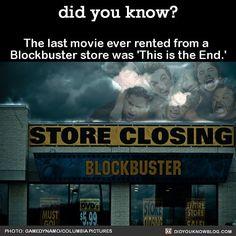 Umm.....there's still blockbusters.....