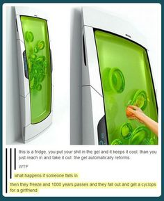 #tumblrfunny knowing the people I know, someone would stick their junk in it :\