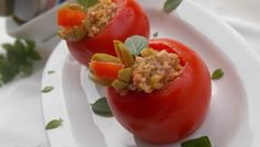 Pomodori ripieni di tonno e olive