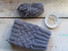 homespun living: thank you & a free boot cuff pattern
