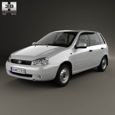 Lada Kalina (1117) wagon 2011 3d model from humster3d.com. Price: $75